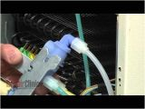 Frigidaire Refrigerator Ice Maker Wiring Diagram Frigidaire Refrigerator Dispenser Water Inlet Valve 242252702 Youtube