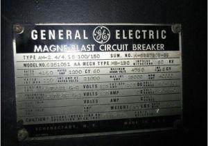 Ge Magne Blast Wiring Diagram Am 2 4 4 16 100 150 Ge Magne Blast 1200a 4 76kv Air Circuit Breaker