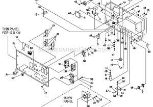 Generac Gp17500e Wiring Diagram Generac 120 240v Portable Generator 0057351 Ereplacementparts Com