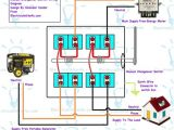 Generator Manual Transfer Switch Wiring Diagram Mujahid Mujahid13et01 On Pinterest
