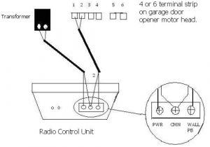 Genie Garage Door Wiring Diagram Garage Receiver Wiring Diagram Wiring Diagram Files