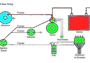 Gm One Wire Alternator Wiring Diagram 2 Wire Alternator Wiring Diagram Delco Remy Chevy Gm Two Pigtail