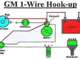 Gm One Wire Alternator Wiring Diagram Pinterest