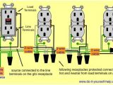 Ground Fault Plug Wiring Diagram Wiring Diagram Of A Gfci to Protect Multiple Duplex Receptacles