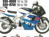 Gsxr 600 Wiring Diagram Pdf Haynes Suzuki Gsx R600 Gsx R750 Service and Repair Manual 600cc