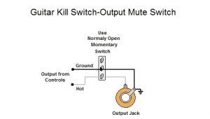 Guitar Killswitch Wiring Diagram Help Needed to Rewire My Guitar and Add An Killswitch On A Push Pull