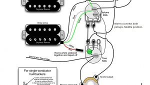 Guitar Wiring Diagram 2 Volume 1 tone 2 Humbuckers 1 Volume 1 tone Best Of Wiring Diagram Image