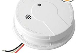 Hardwired Smoke Detector Wiring Diagram Kidde Hardwire Smoke Alarm with Hush Feature and Battery Backup Contractor Pack 6 Pack