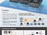 Hdmi Over Cat5 Wiring Diagram 4k Hdmi Cat Extender Set Sender Empfanger Zum Hdmi