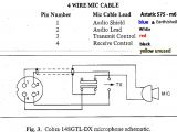 Headphone with Mic Wiring Diagram Wiring 1 8 Quot Stereo Headphone Jack On 5 Pin Cb Microphone Wiring