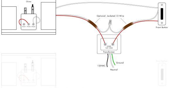 Heath Zenith Wired Door Chime Wiring Diagram Door Bell Wiring Schematic Wiring Diagram Database