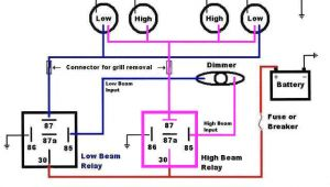 High Beam Low Beam Wiring Diagram Low Beam Relay Not Functioning the 1947 Present