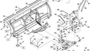 Hiniker C Plow Wiring Diagram Western Unimount Standard Poly Plow