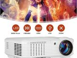 Home theater Projector Wiring Diagram 4600 Lumen Led Video Projector 150 Large Display Support 1080p Hdmi Usb Av Lcd Movie Projecteur Build In Speaker Compatible with Dvd Player Tv Box