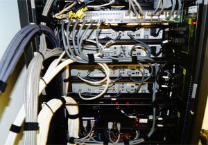 Home theater Projector Wiring Diagram Full Home Audio Video Distribution Rack Wire Management