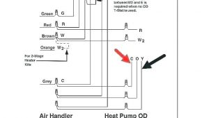 Home thermostat Wiring Diagram 4 Wire thermostat Easycleancolombia Co