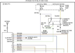 Honda Accord Stereo Wiring Diagram 1993 Honda Civic Wiring Harness Wiring Diagram Mega