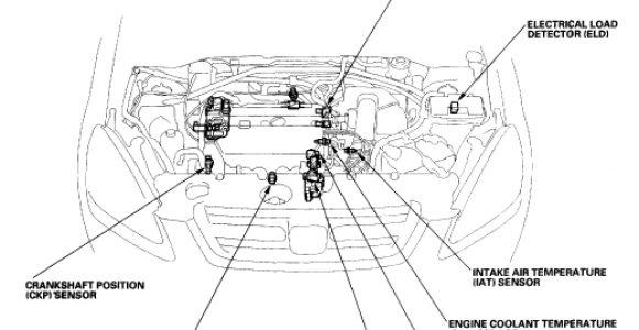 Honda Crv Knock Sensor Wiring Diagram My Dash is Showing the orange Engine Light On at All Times