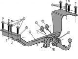 Honda Crv Trailer Wiring Diagram Witter Hn53ar Abnehmbarer Schwanenhals Anhangerkupplung