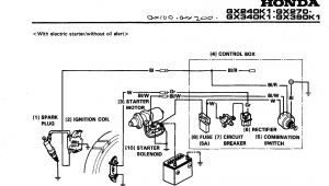 Honda Gx340 Electric Start Wiring Diagram Honda Gx390 Wiring Diagram Free Wiring Diagram