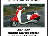 Honda Metropolitan Wiring Diagram Honda Chf50 Metropolitan 2002 2009 Service Manual by Cyclepedia