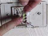 Honeywell Mercury thermostat Wiring Diagram How to Replace An Old thermostat by Home Repair Tutor Youtube
