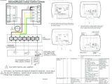Honeywell Mercury thermostat Wiring Diagram Wiring Diagram for Honeywell thermostat Rth2300b Non Programmable Am