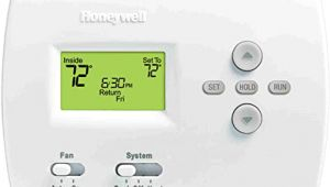 Honeywell Pro 4000 thermostat Wiring Diagram Honeywell 105841 Th4110d1007 Programmable thermostat 3 13 16 High X 5 3 8 Wide X 1 1 4 Deep Premier White