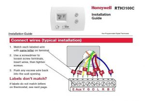 Honeywell Rth3100c Wiring Diagram Th5220d Wiring Diagram Wiring Diagram Article Review