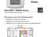 Honeywell thermostat Th8320r1003 Wiring Diagram Honeywell Visionpro Th8000 Wiring Diagram Wiring Diagram