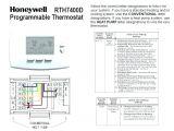 Honeywell Wifi Smart thermostat Wiring Diagram Wiring Diagram for Honeywell Programmable thermostat Data