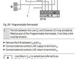Honeywell Wifi thermostat Wire Diagram Honeywell Cmt927 Installation Manual