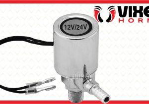 Horn Tech Train Horn Wiring Diagram D Vixen Horns Vxa7164 12v 24v Electric Air Valve D