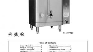 Hot Water Urn Wiring Diagram Am 324 04 Hot Water Boiler 390 00072 Grindmaster Manualzz Com