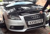 How to Adjust 2009 Audi A4 Headlights Audi A4 B8 Front Bumper Removal 2008 to 2015 Models Youtube