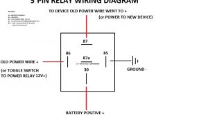 How to Wire A Relay Diagram 6 Post Relay Wiring Diagram Schema Diagram Database