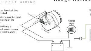How to Wire An Alternator Diagram 5 Wire Gm Alternator Wiring Wiring Diagram Centre