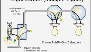 How to Wire Multiple Lights to One Switch Diagram How to Wire A Switch with Multiple Lights Diy In 2019 Home