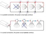How to Wire Under Cabinet Lighting Diagram Uk What is Serial and Parallel Connection and when Do I Apply What