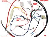 Howhit 150cc Wiring Diagram Engine Wiring Harness for Gy6 150cc Engine