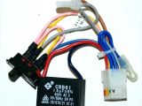 Hunter Fan Capacitor Wiring Diagram Installing 5 Wire Ceiling Fan Capacitor Lapcozy Co