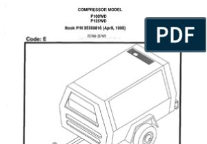Ingersoll Rand 185 Air Compressor Wiring Diagram Ingersoll Rand P100wd P125wd Valve Switch