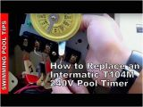 Intermatic 240v Timer Wiring Diagram How to Replace An Intermatic T104m 240v 208 277 V Pool Timer Youtube