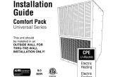 International Comfort Products Wiring Diagram Installation Guide National Comfort Products Manualzz Com