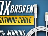 iPhone Lightning Cable Wiring Diagram Best Way to Fix iPhone iPod Ipad Lightning Usb Cable at Home Youtube