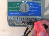Irrigation Controller Wiring Diagram How to Install Wire A Sprinkler Controller Youtube