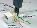 Jack socket Wiring Diagram Cat 6 Ethernet Wall Jack Wiring Wiring Diagram Site