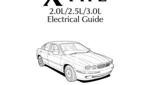 Jaguar X Type Wiring Diagram Pdf Jaguar X Type 2001 2 0l 2 5l 3 0l Electrical Guide