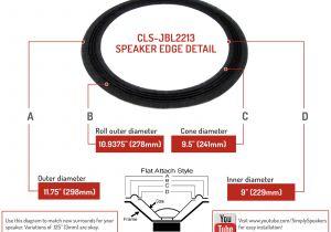 Jbl Flip 3 Wiring Diagram Jbl 2212 2213 2213 H 123a 123a 1 123a 3 12 Cloth Edge Lautsprecher Kegel Reparatursatz Ebay