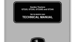 John Deere Gt245 Wiring Diagram Calameo John Deere Gt245 Lawn Garden Tractor Service